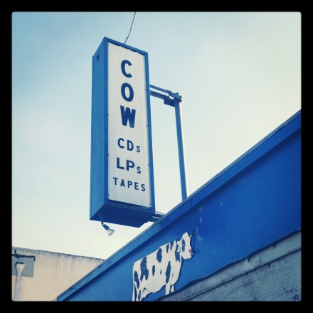 Cow Records - Ocean Beach, San Diego, CA